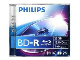 Philips BD-R25 25Gb 6x Blu-Ray (PH528638)