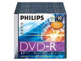 Philips DVD-R47 SLIM 16x (PH922500)