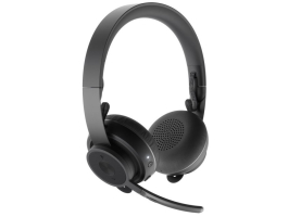 LOGITECH Headset 2.0 - Zone Wireless Bluetooth Qi töltés Microfonos (981-000798)