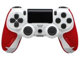 Lizard Skins Playstation 4 Crimson Red 0,5mm Gamepad védő kiegészítő (DSPPS450)