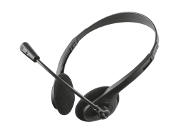 Trust Ziva Chat Headset Black (21517)