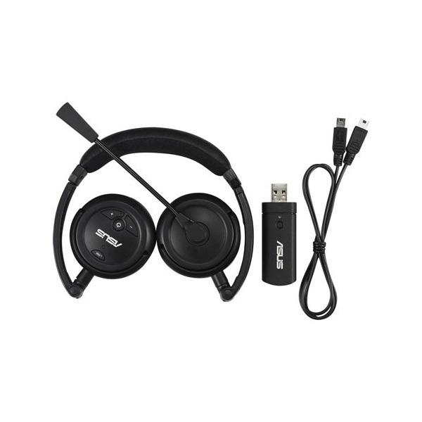 ASUS HS-1000W 1A UBD+RF AS vezeték nélküli fejhallgató+mikrofon c21e462666
