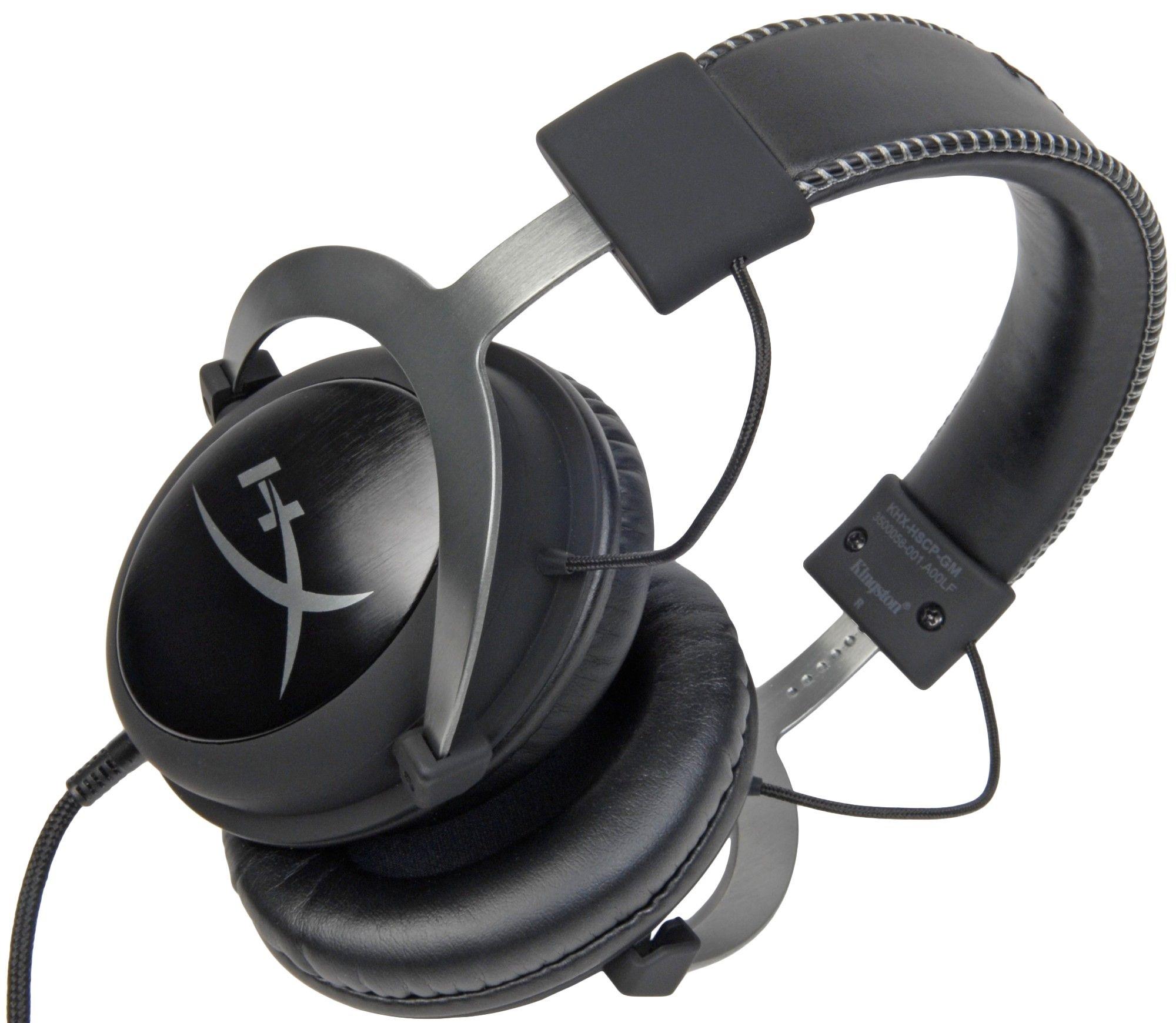 Kingston HyperX Cloud II Gun Metal gamer headset (KHX HSCP GM)
