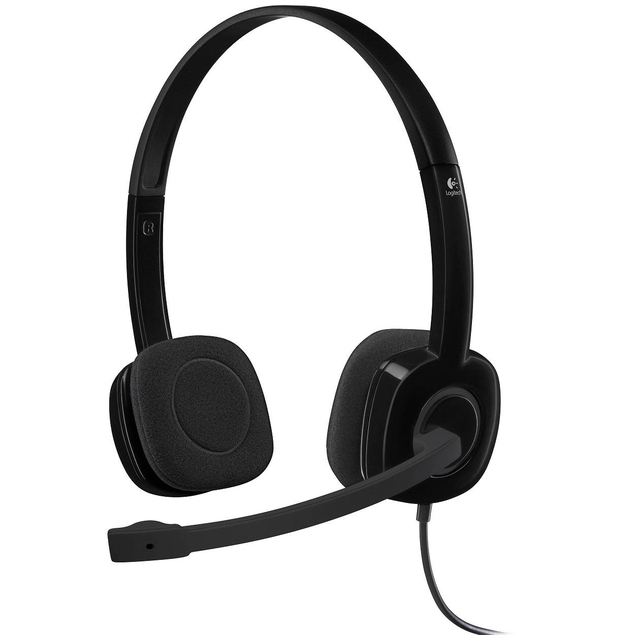 Logitech H151 vezetékes headset (981-000589) af399450c9