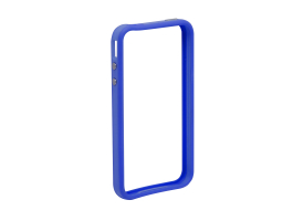 Apple iPhone 4, 4S védőkeret - bumper - Delight 55403A - dark blue