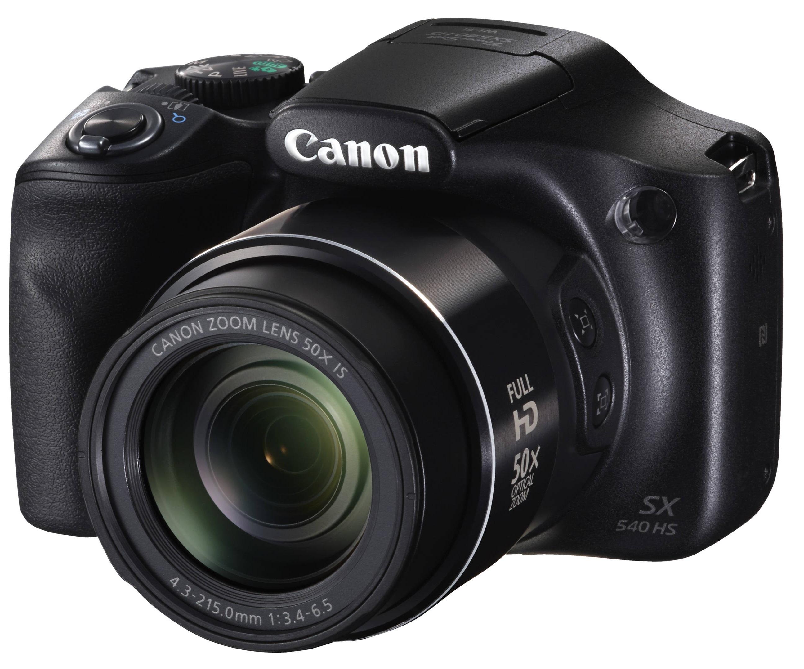 68b0f532417d Canon PowerShot SX540 HS Fekete digitális fényképezőgép