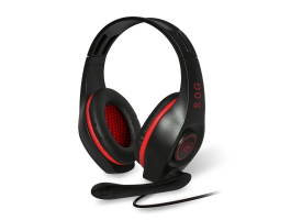 Spirit of Gamer Fejhallgató - PRO-H5 Red (MIC-G715)