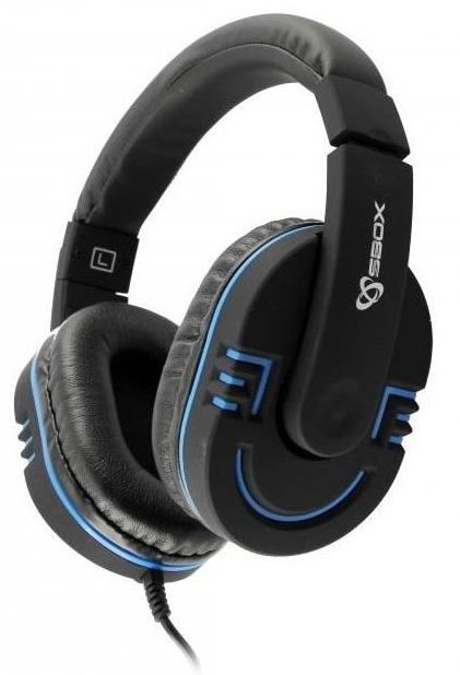Sbox HS-401BBL kék Gaming mikrofonos fejhallgató 64c8d4ac61
