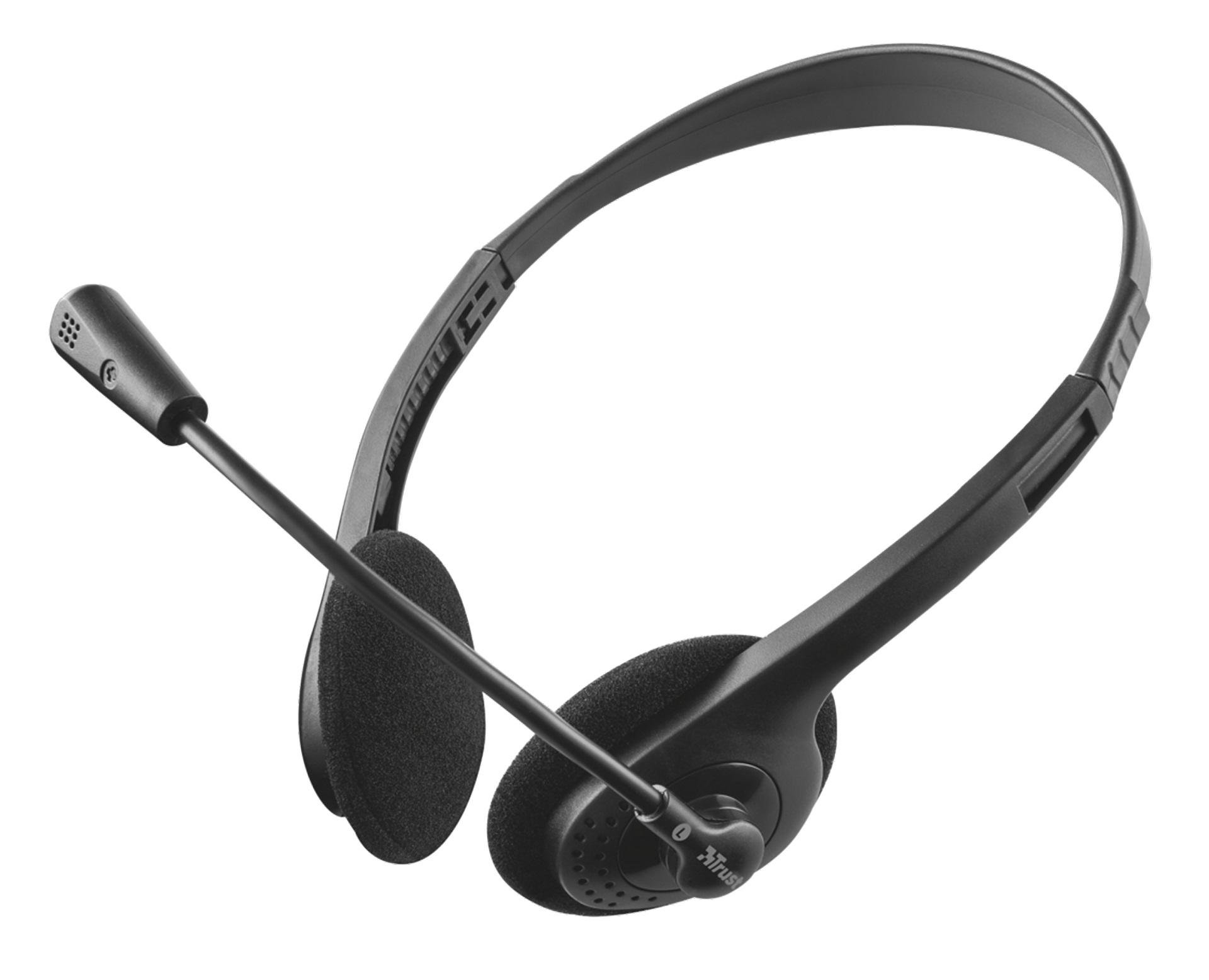 Trust Primo Chat (21665) mikrofonos fejhallgató 53f9c8b70d