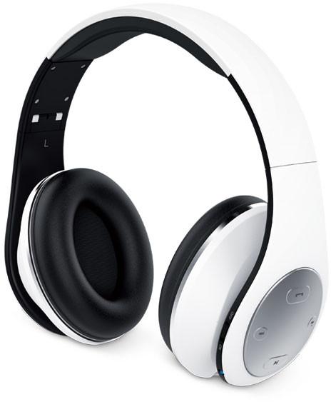 Genius HS-935BT összehajtható fehér mikrofonos bluetooth fejhallgató 1e4e4bc5a9