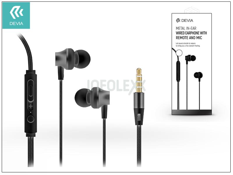 Devia univerzális sztereó felvevős fülhallgató - 3 be2a8d4487