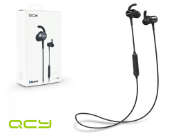 QCY Wireless Bluetooth sztereó fülhallgató v4.1 - QCY M1c Magnetic Bluetooth  Earphones - black 6ea2e72d48