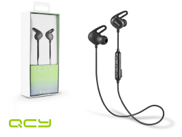 QCY Wireless Bluetooth sztereó fülhallgató v4.1 - QCY E2 Bluetooth Wireless  Earphones - black 23080de955