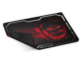 Spirit of Gamer SMOKEY SKULL Red (430 x 320 x 3mm) piros egérpad