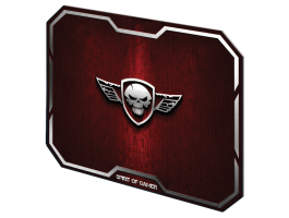 Spirit of Gamer WINGED SKULL Red (295 x 235 x 3mm) piros egérpad