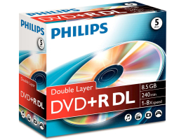 Philips DVD+R85 Dual-Layer (PH992114)