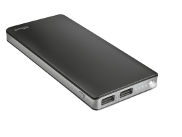 Trust Primo Thin Powerbank 10000mAh Black (22577)