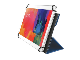 "Trust Aexxo Universal Folio Case for 10.1"" tablets Blue (21205)"