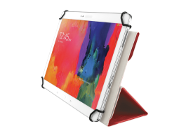 "Trust Aexxo Universal Folio Case for 10,1"" tablets Red (21206)"