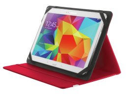 "Trust Primo Folio Case with Stand for 10"" tablets Red (20316)"
