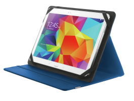 "Trust Primo Folio Case with Stand for 10"" tablets Blue (20315)"