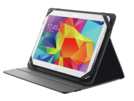 "Trust Primo Folio Case with Stand for 10"" tablets Black (20058)"