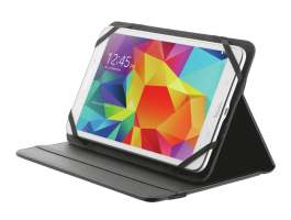 "Trust Primo Folio Case with Stand for 7-8"" tablets Black (20057)"