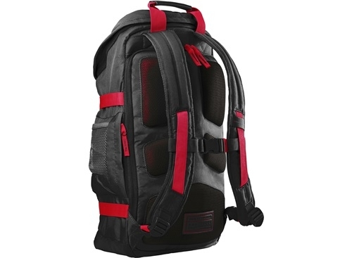 HP 15.6 Red Odyssey Backpack notebook hátizsák (X0R83AA) f49e61119b
